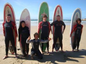 Peniche Surf Camp in Portugal