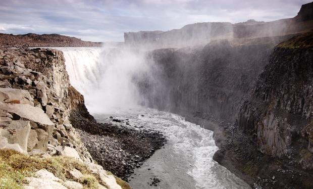Dettifoss Waterfall in Iceland