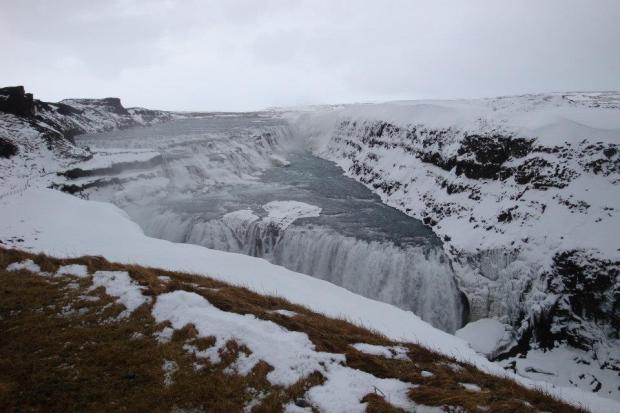 Gulfoss Watefall in Iceland