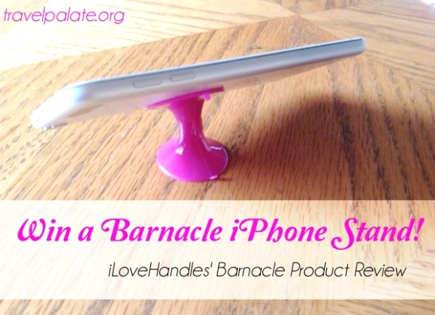 barnacle iphone stand