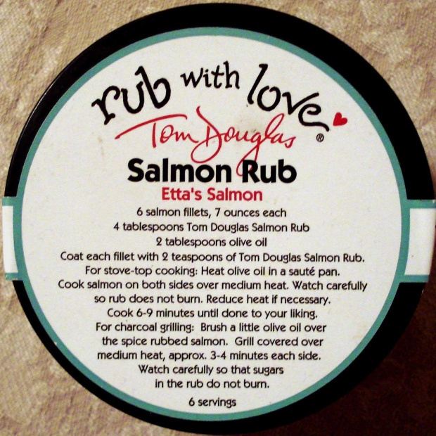 salmon rub with love