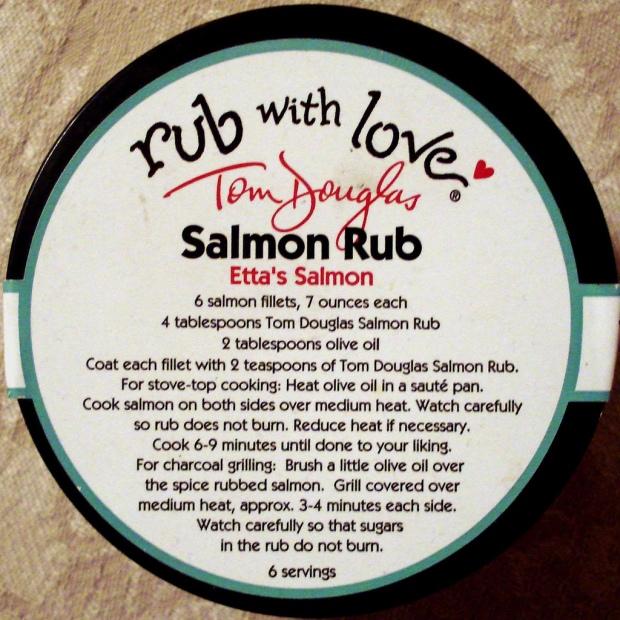 salmon rub with love