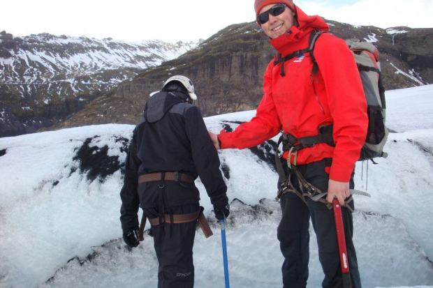 glacier guide in iceland