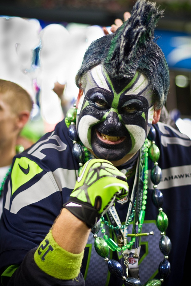 seahawks' fan