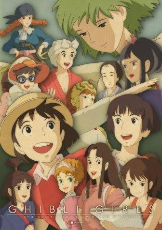 Resultado de imagen de ghibli female characters