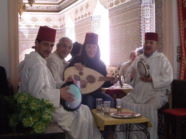 Moroccan restaurant in Tangier