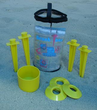 beach tacs