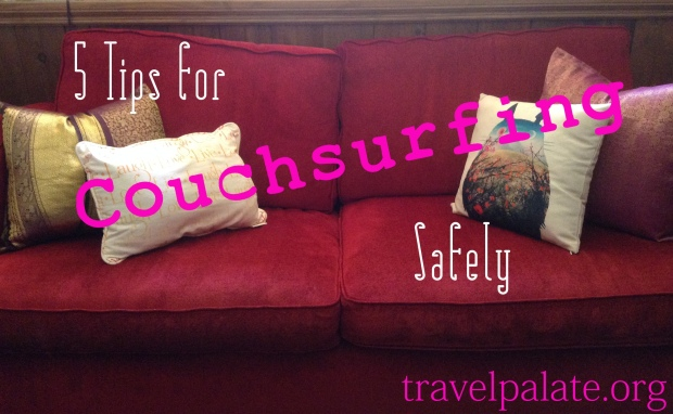 5 tips for couchsurfing safely