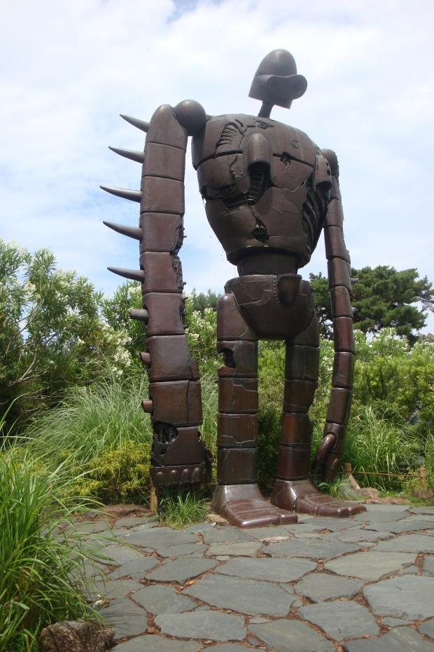 laputa robot statue at ghibli museum