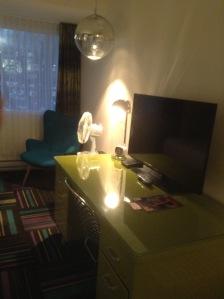 Hotel Zed bedroom