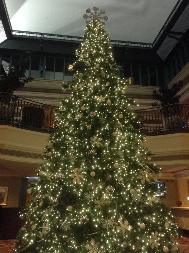 Empress Hotel Christmas Tree