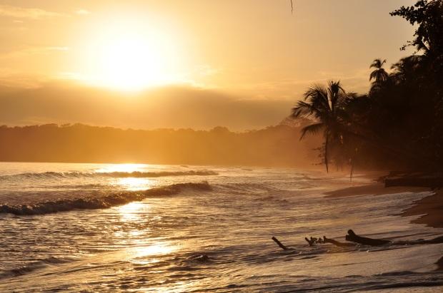 Cahuita, Costa Rica sunrise