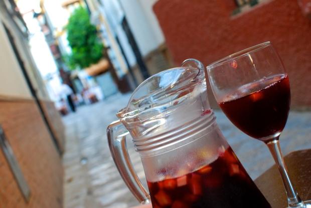 Sangria in Spain