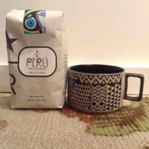 Starbucks Reserve coffee and mug