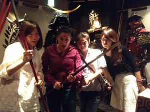samurai theme restaurant tokyo