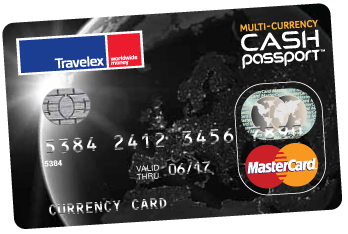 multi-currency cash passport card