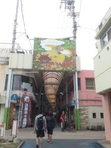 Main souvenir area in ishigaki